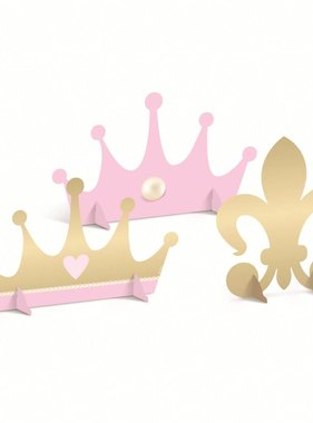 Jollyjoy 4 PRINCESS KINGDOM ASSORTED DECORATIVE CUTOUTS