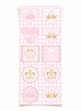 Jollyjoy STICKERS PRINSES - 3 VELLEN