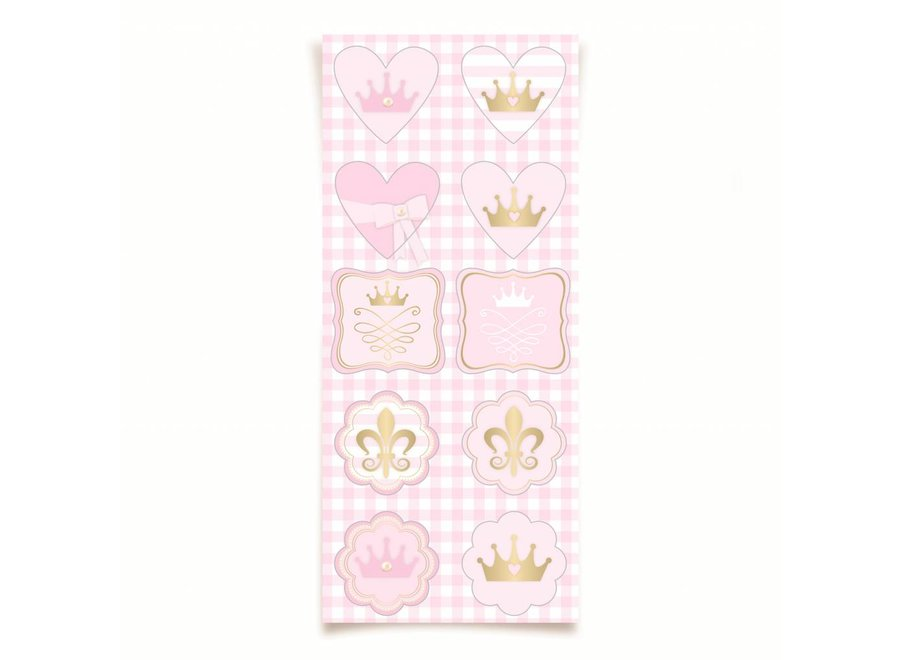 PRINCESS KINGDOM SPECIAL STICKERS