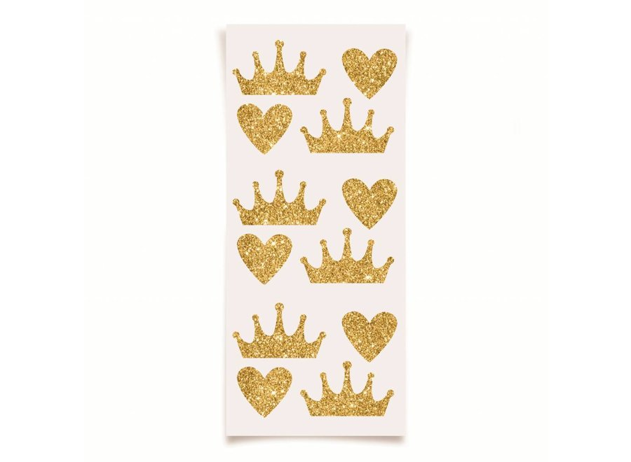 PRINCESS KINGDOM GLITTER STICKERS