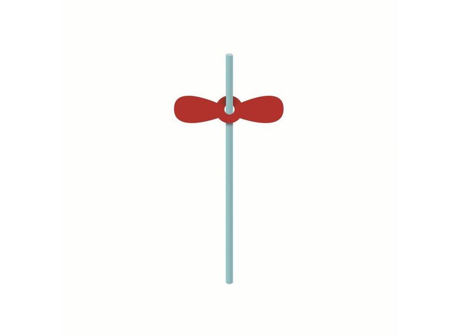 KARTONNEN RIETJES MET OPZETSTUK AVONTURIER - 6/10 stuks