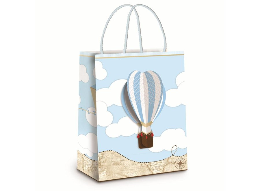 EXPLORER LAMINATED BAG WITH 3D EMBELLISHMENT