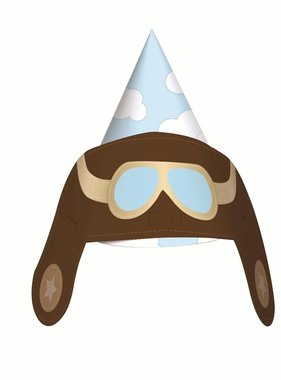 Jollyjoy EXPLORER AVIATOR PARTY HATS