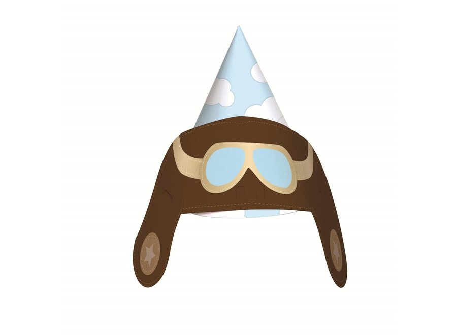EXPLORER AVIATOR PARTY HATS