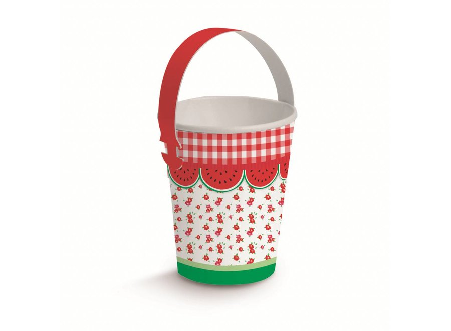 PICNIC BUCKET PAPER CUPS