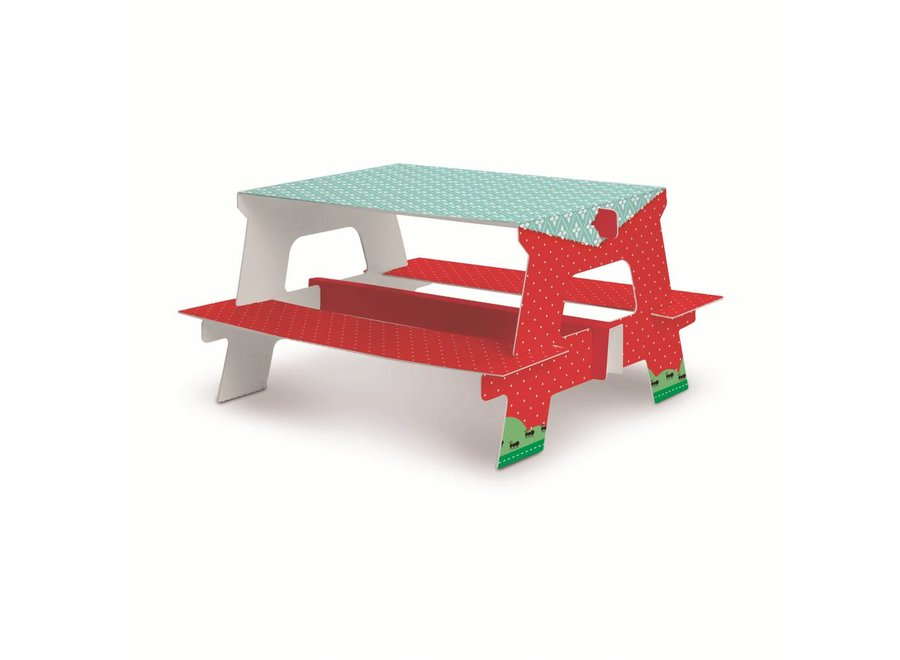 PICNIC SPECIAL BENCH SWEETS HOLDER