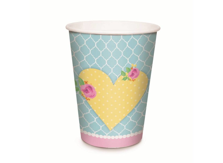 GIRLS TEA PAPER CUPS