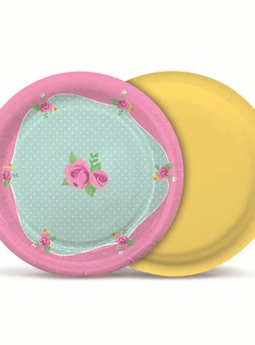 Jollyjoy GIRLS TEA ROUND PLATE