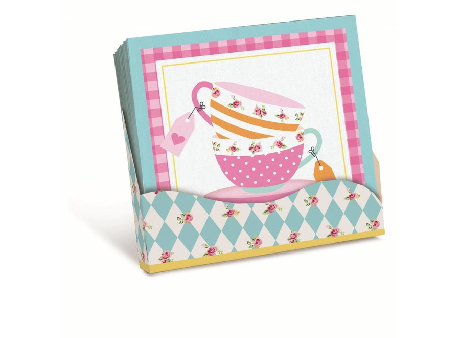 GIRLS TEA NAPKINS