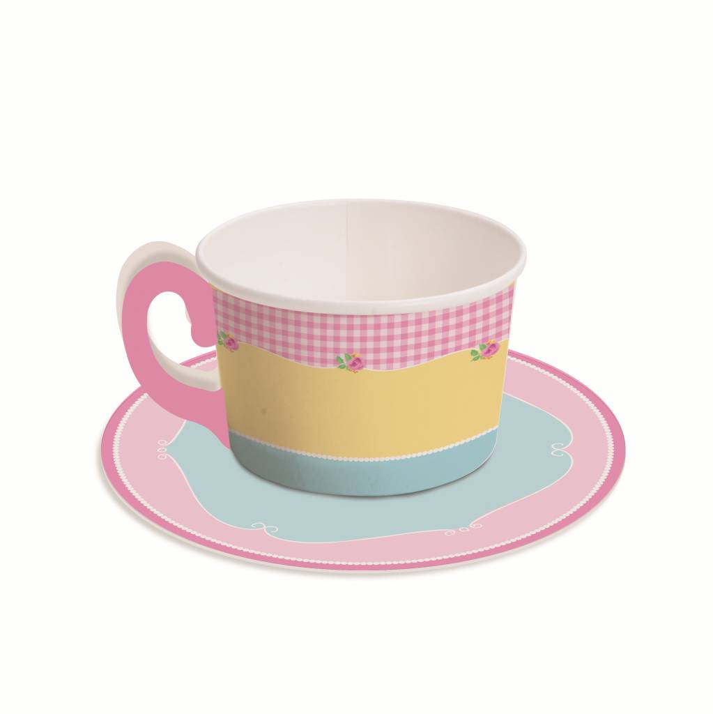 Jollyjoy GIRLS TEA CANDY TEACUP