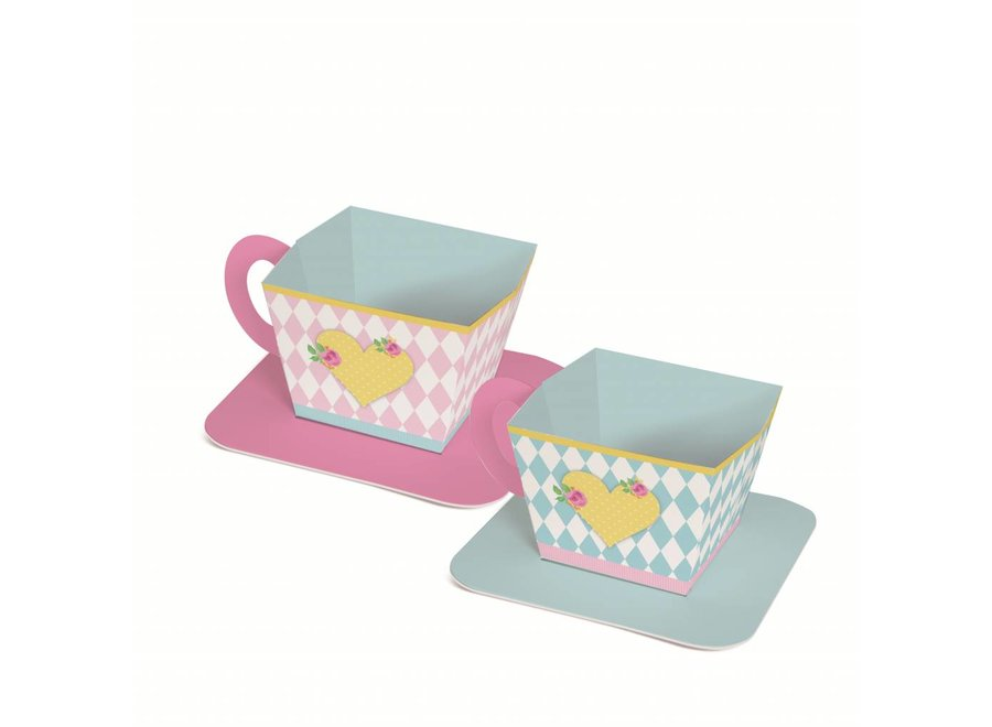 GIRLS TEA TEACUP