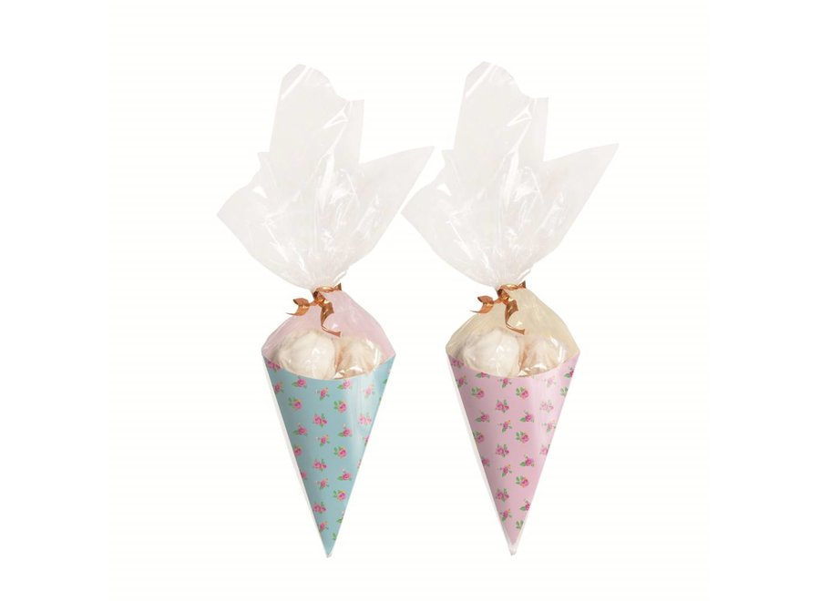 GIRLS TEA MINI PARTY CONES KIT