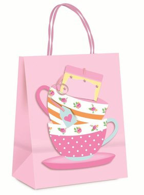 Jollyjoy GIRLS TEACUP BAG WITH EMBELLISHMENT