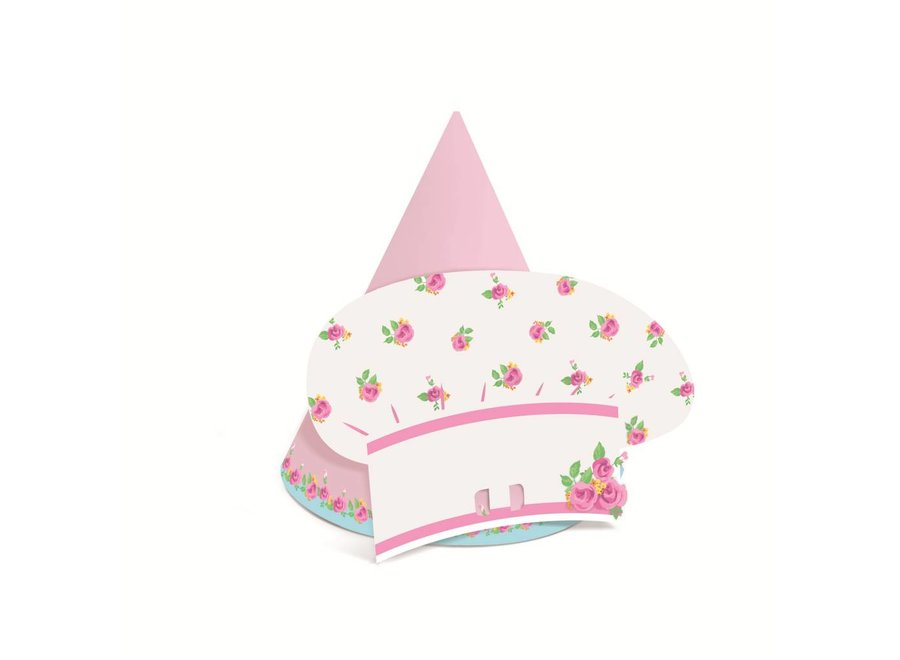 GIRLS TEA CHEF'S PARTY HATS