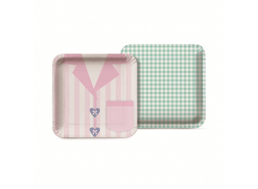 DREAM PARTY SQUARE PLATE