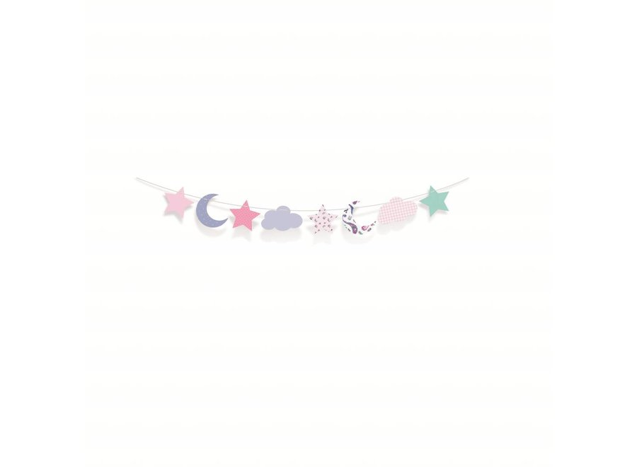 DREAM PARTY DECORATIVE BANNER