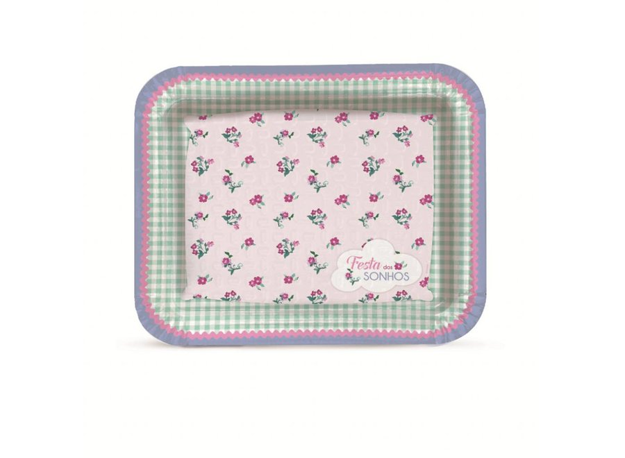 DREAM PARTY LAMINATED TRAY