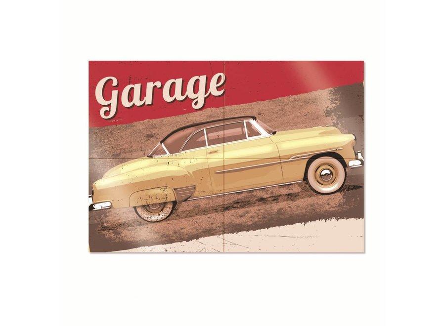 GARAGE 4-PIECE POSTER