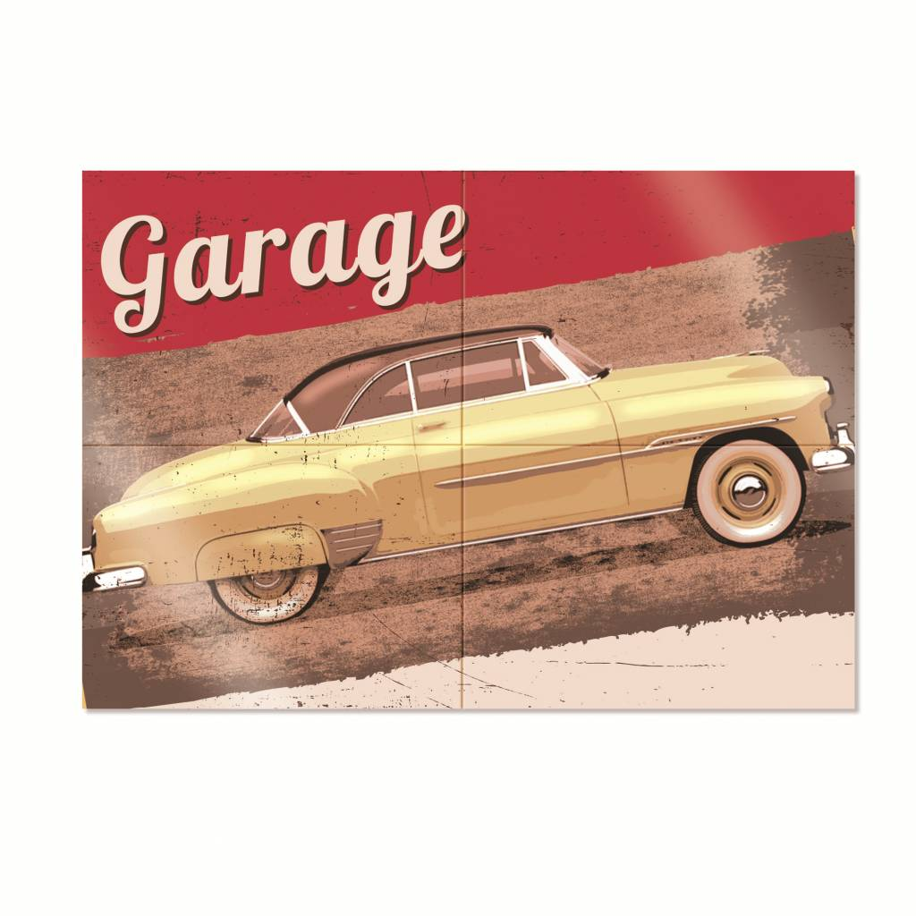 Jollyjoy GARAGE 4-PIECE POSTER