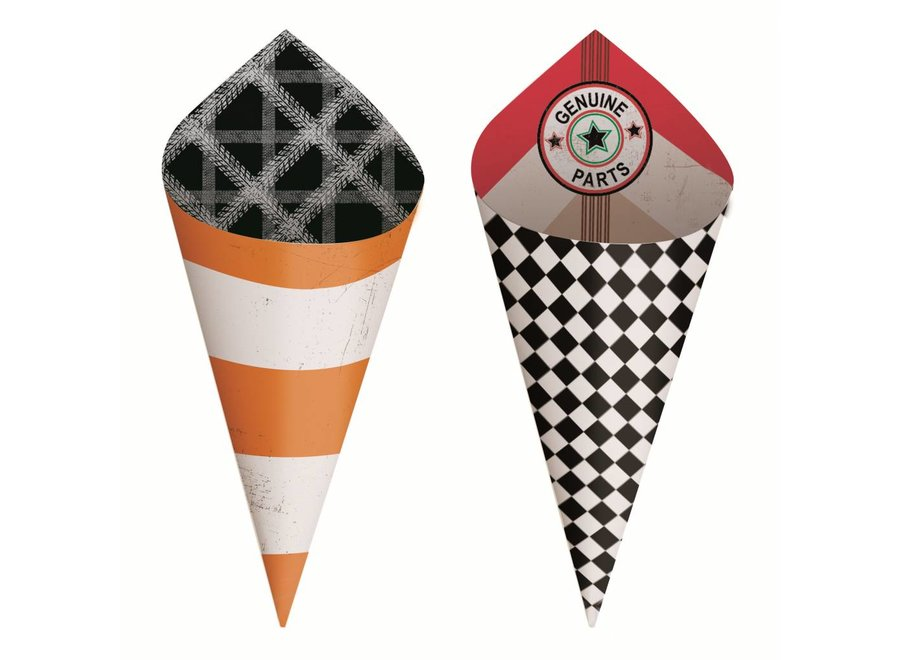 GARAGE MINI PARTY CONES