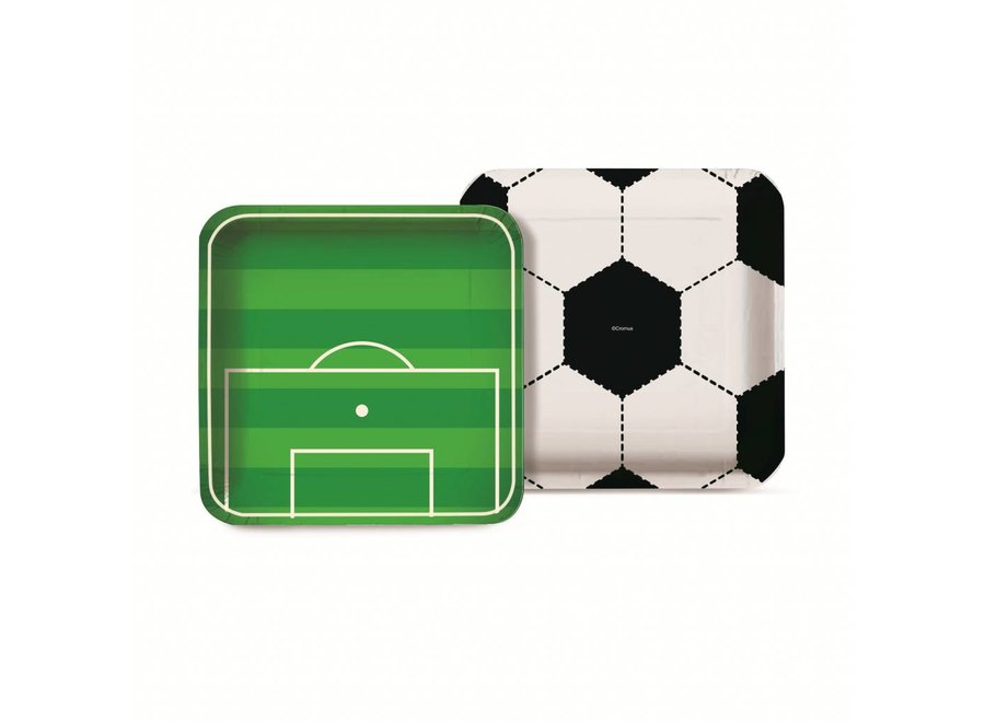 FOOTBALL SQUARE PLATE