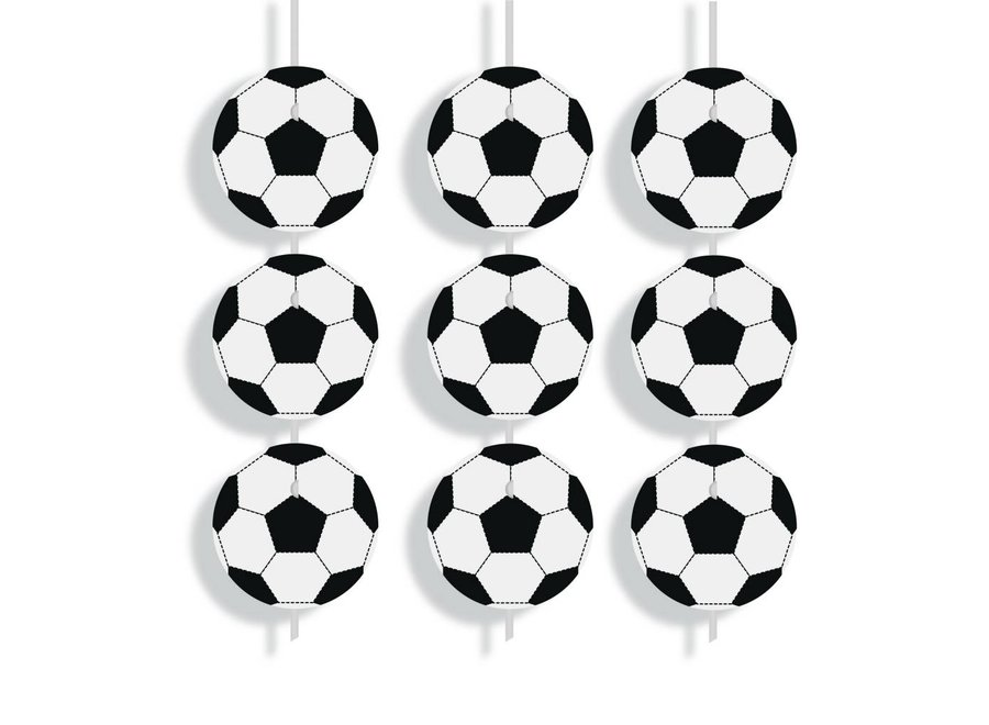 FOOTBALL DECORATIVE CURTAIN