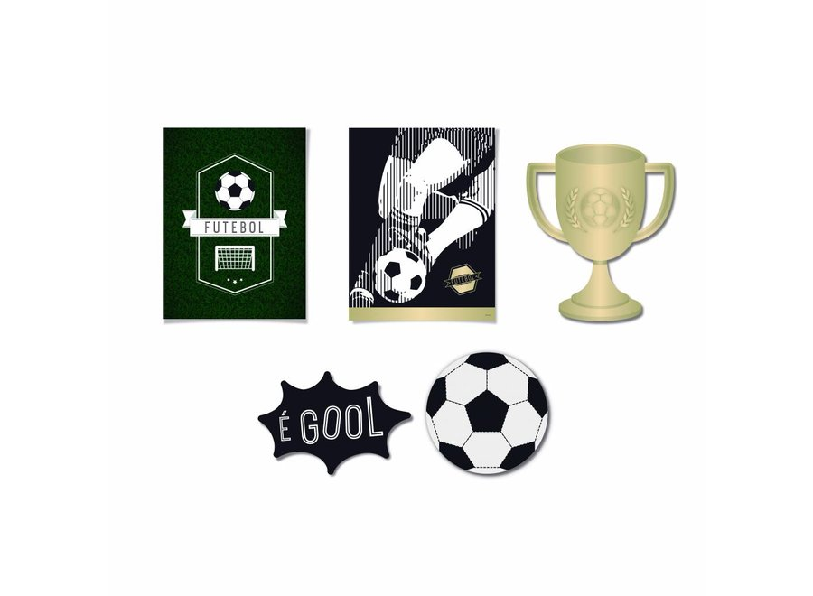 FOOTBALL DECORATIVE POSTERS