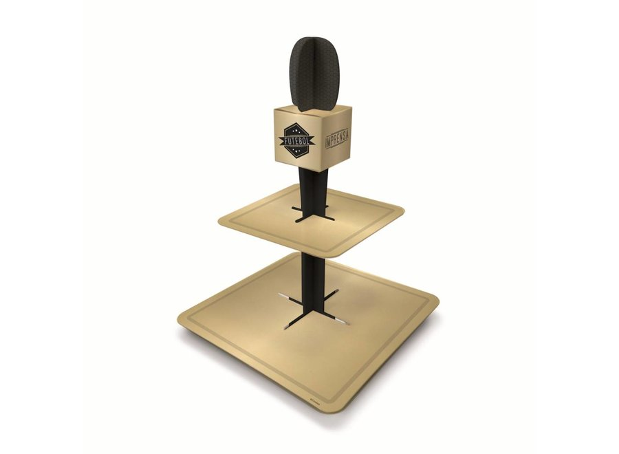FOOTBALL SPECIAL MICROPHONE SWEET STAND 2T