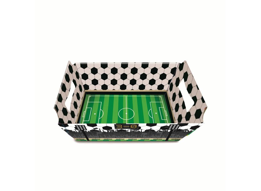 FOOTBALL CARDBOARD BASKET S