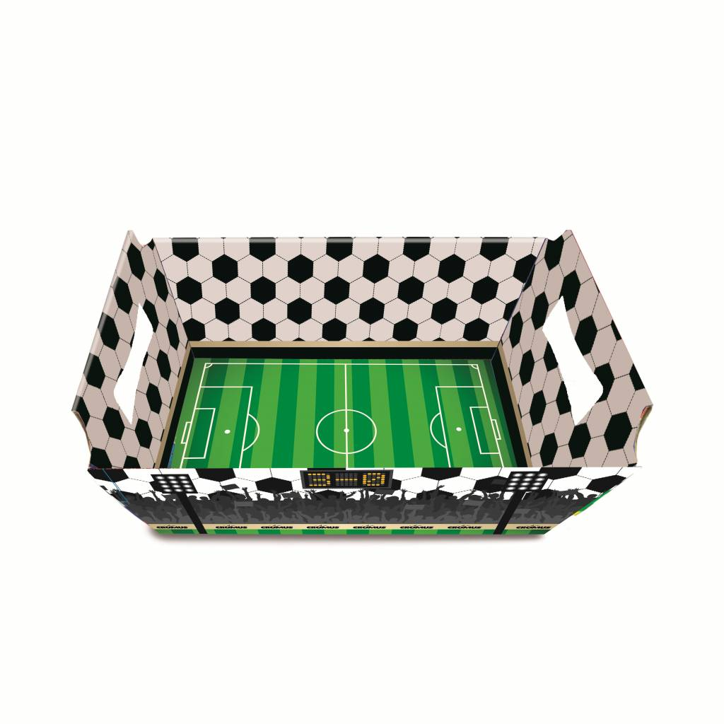 Jollyjoy FOOTBALL CARDBOARD BASKET S