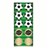 Jollyjoy FOOTBALL ROUND STICKER