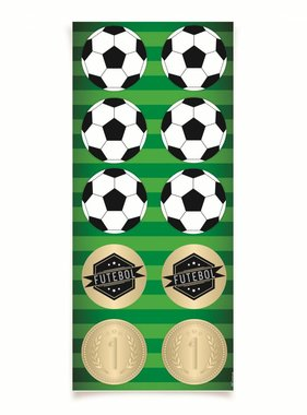 Jollyjoy FOOTBALL ROUND STICKER