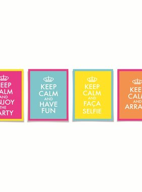 Jollyjoy CARTAZ DECORATIVO KEEP CALM