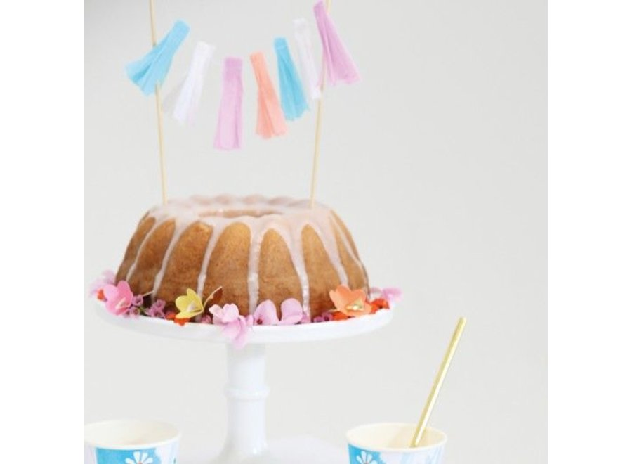 TOOT SWEET LARGE CAKE TOPPER