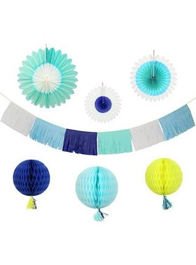 Meri Meri BLUE DECORATING KIT
