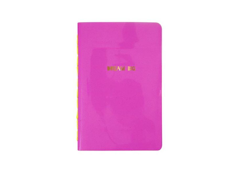 DREAM BIG CADERNO ROSA