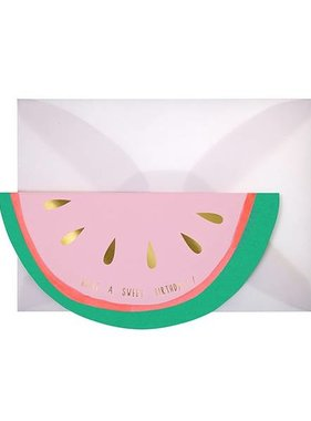 Meri Meri WATERMELON CARD