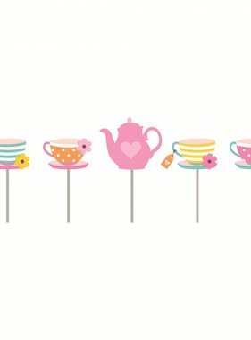 Jollyjoy GIRLS TEA 2D CANDLES