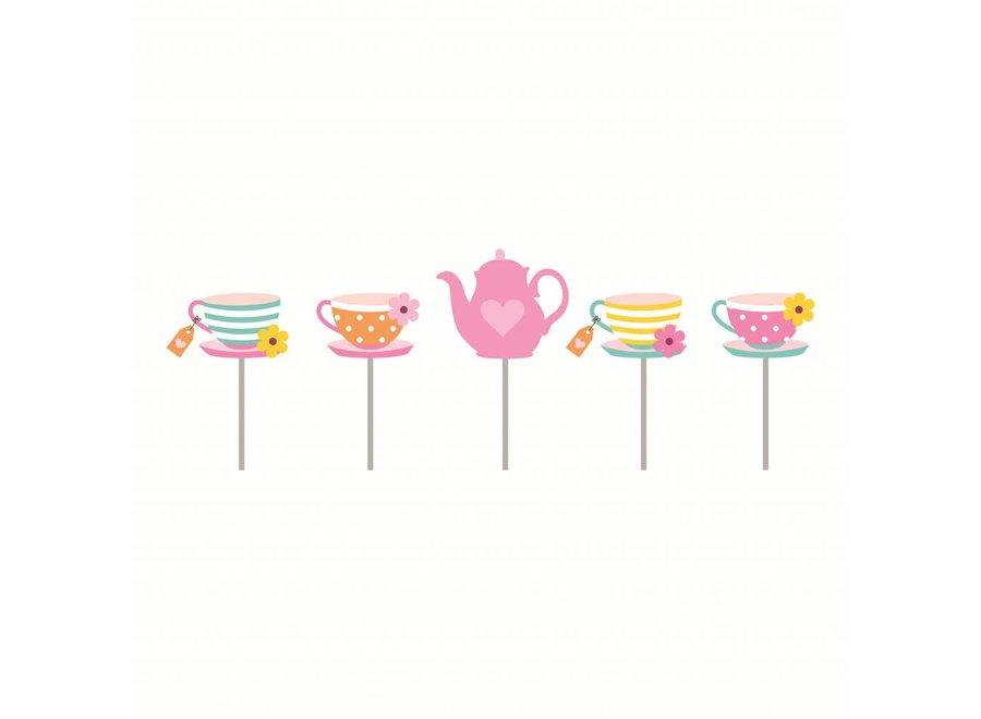 GIRLS TEA 2D CANDLES