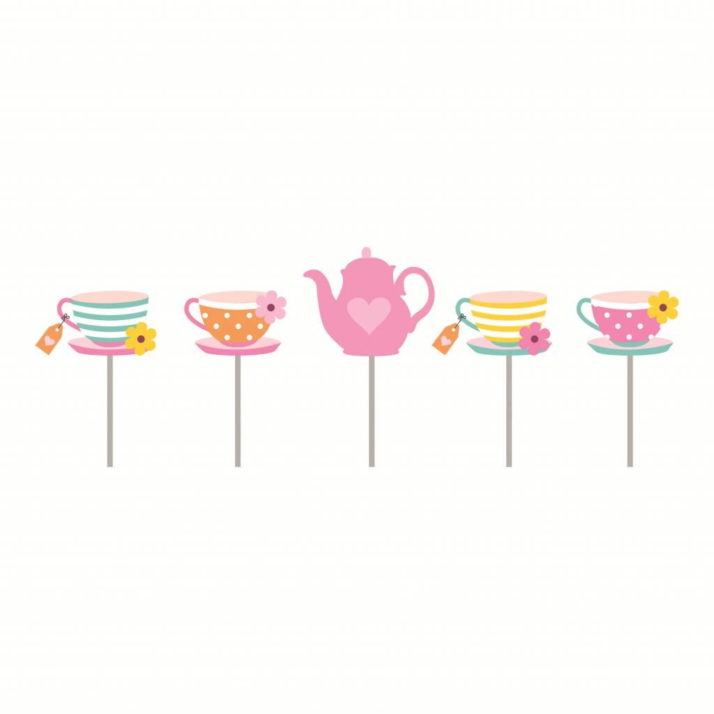 Jollyjoy GIRLS TEA 2D CANDLES