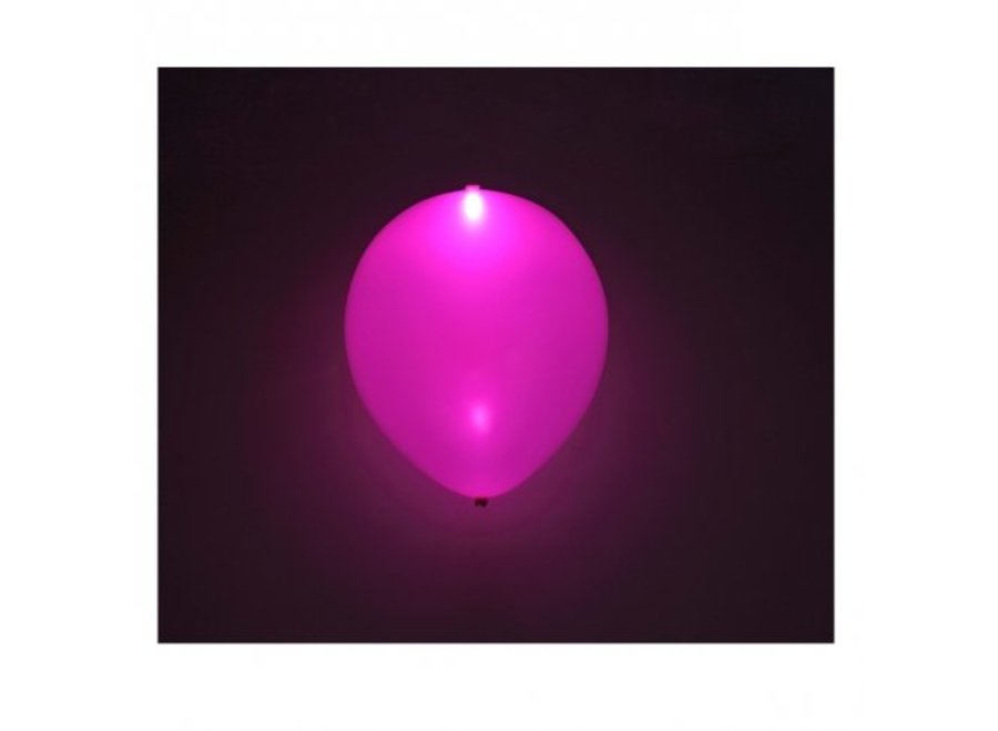 PINK LED BALLOONS