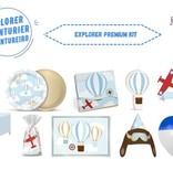 Jollyjoy Avonturier Premium Feestpakket voor 8 of 10 personen