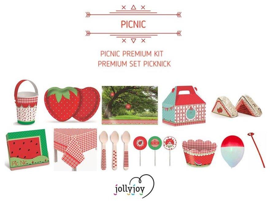 Picknick Premium Feestpakket voor 8 of 10 personen OP=OP