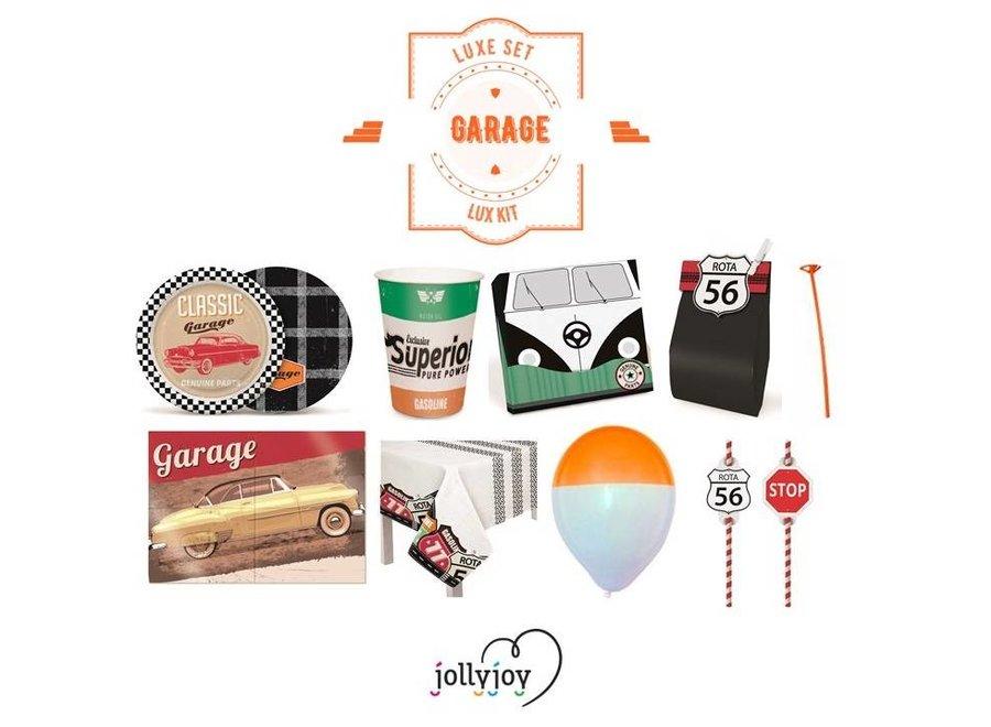 Garage Luxe Pakket voor 8 of 10 personen OP=OP