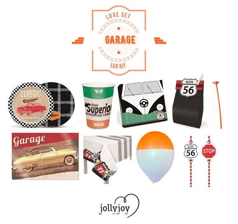 Jollyjoy KIT LUXO GARAGE