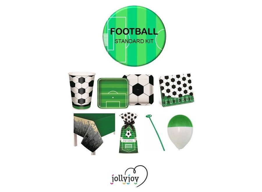 Voetbal Standaard Pakket voor 8 of 10 personen