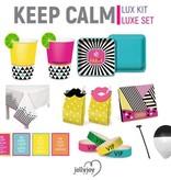 Jollyjoy Keep Calm Luxe Pakket voor 8 of 10 personen