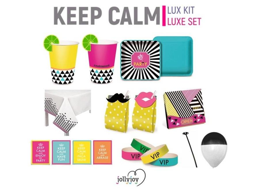 Keep Calm Luxe Pakket voor 8 of 10 personen