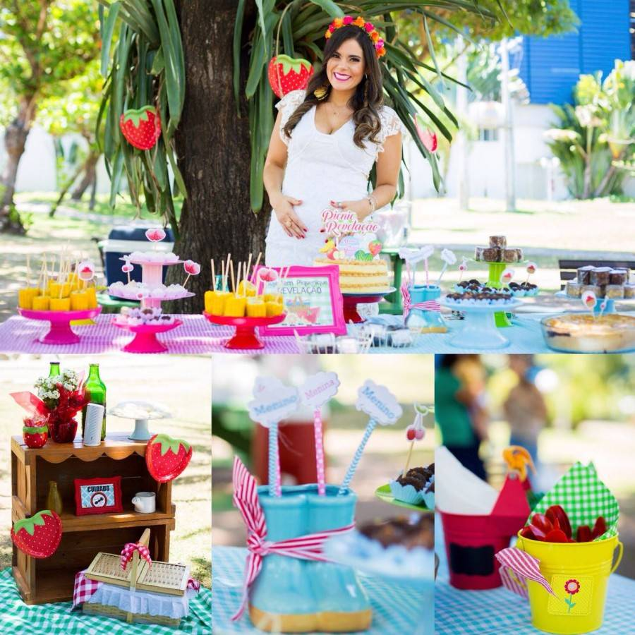 NAYARA GUSMÃO'S GENDER REVEAL PICKNICK