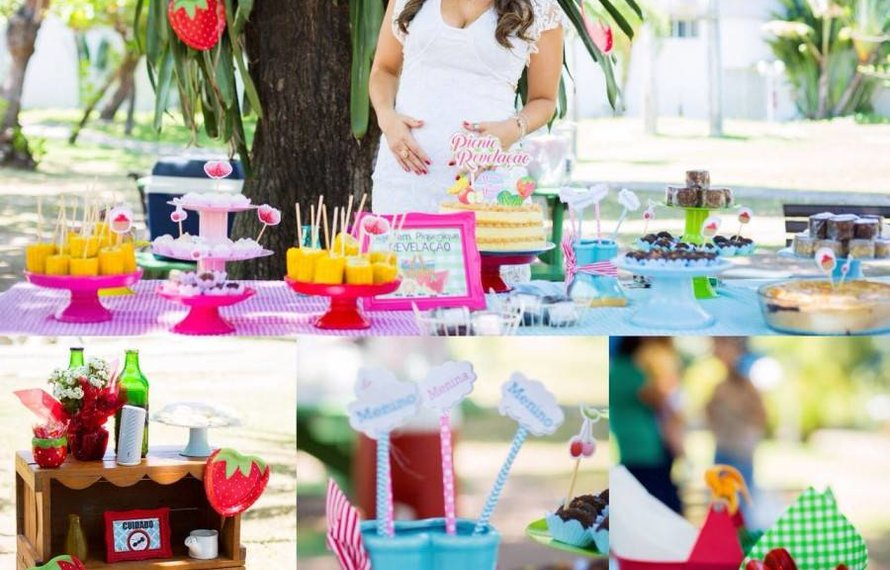 NAYARA GUSMÃO'S GENDER REVEAL PICNIC